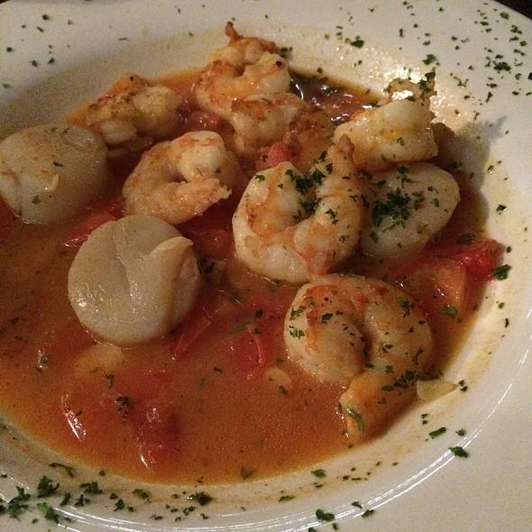 Shrimp & Scallops @ Rivas Restaurant & Bar