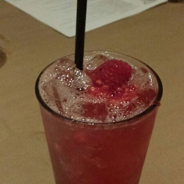 Raspberry Ginger Collins