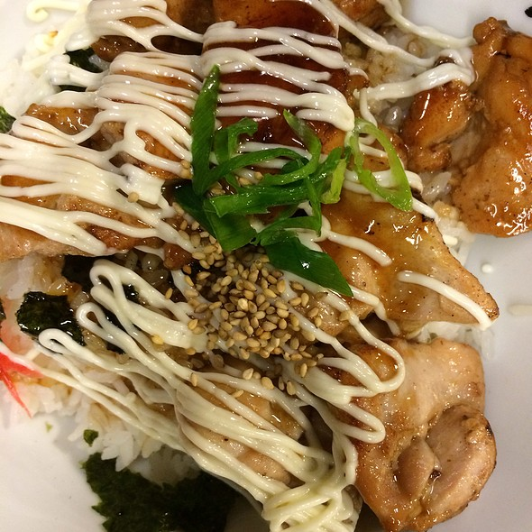 Bbq Chicken Don @ Maruko Japanese Noodle House