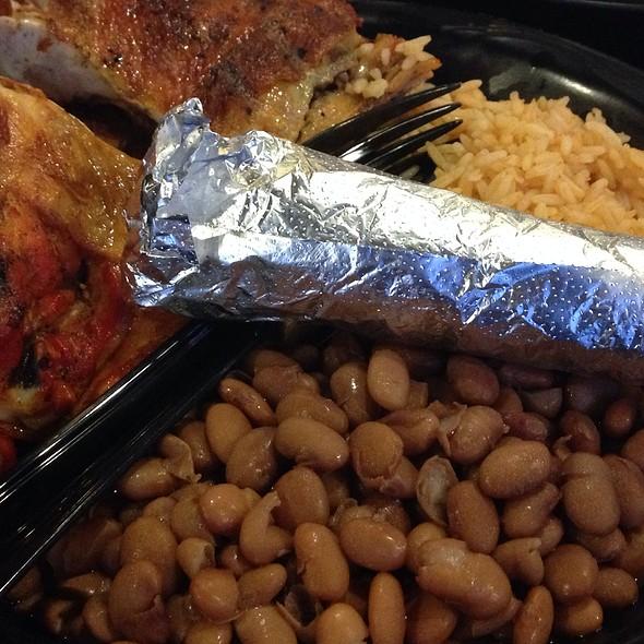 Chicken Plate @ Santa Barbara Chicken Ranch