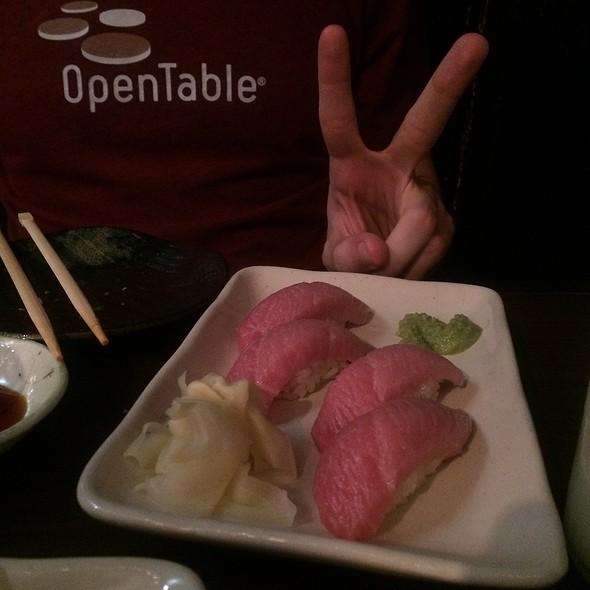 Otoro Sushi (Bluefin Tuna)