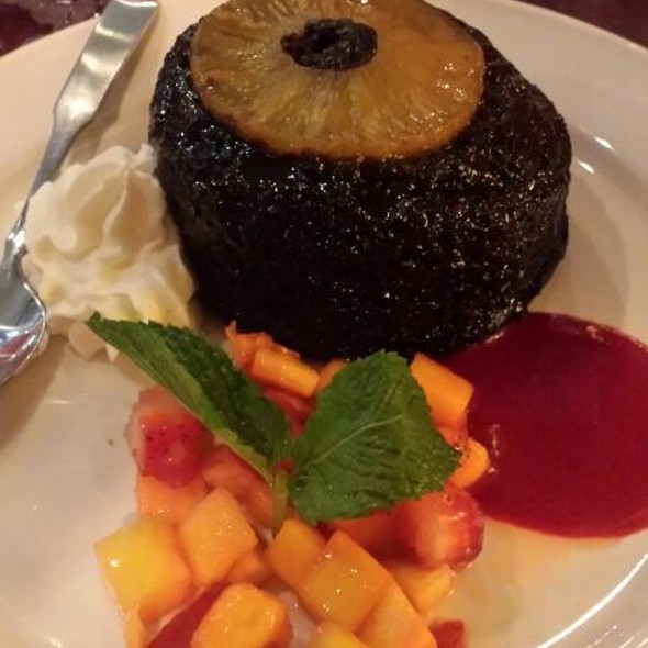 Chocolate Pineapple Cake