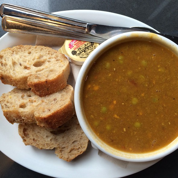 Soup Of The Day - African Pea @ Trees Organic Coffee