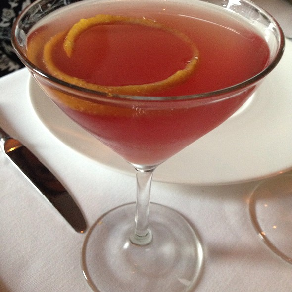 French Kiss Martini - L'Espalier, Boston, MA