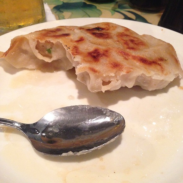 Pan Fried Dumplings @ China Rose