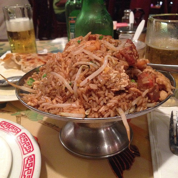 Combination Fried Rice @ China Rose
