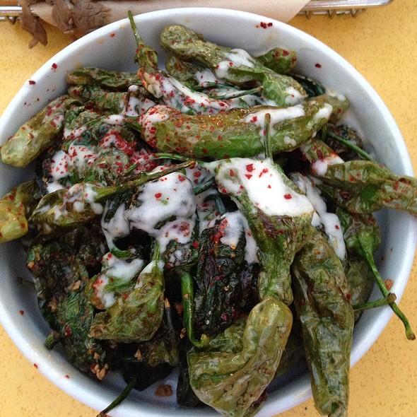 Shishito Peppers @ Catal Restaurant & Uva Bar