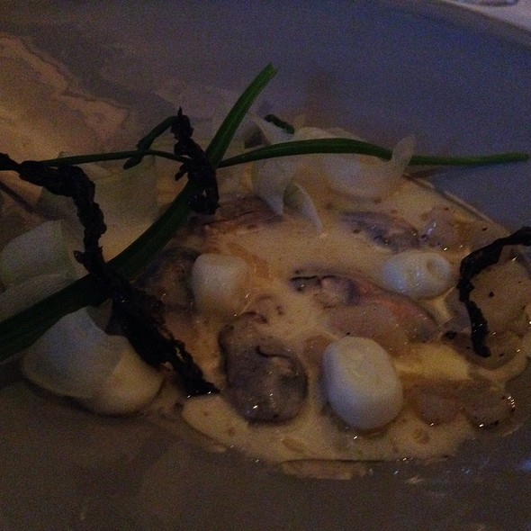 Oyster Stew - L'Espalier, Boston, MA