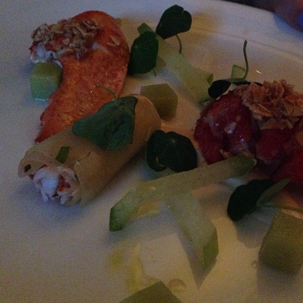 Lobster Apple Appetizer - L'Espalier, Boston, MA
