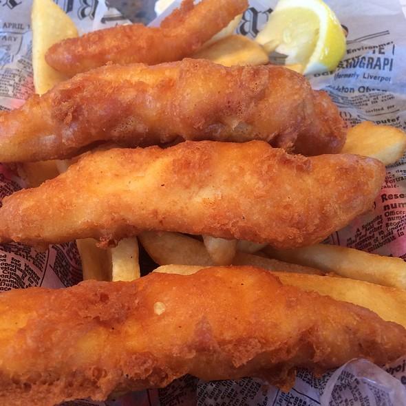 Fish and Chips @ G B Fish & Chips