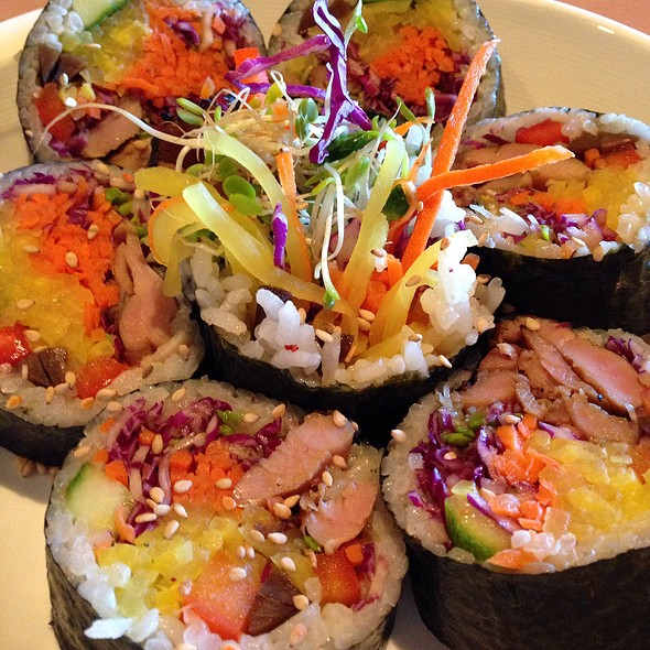 Kimbap @ Bowl'd Korean Rice Bar