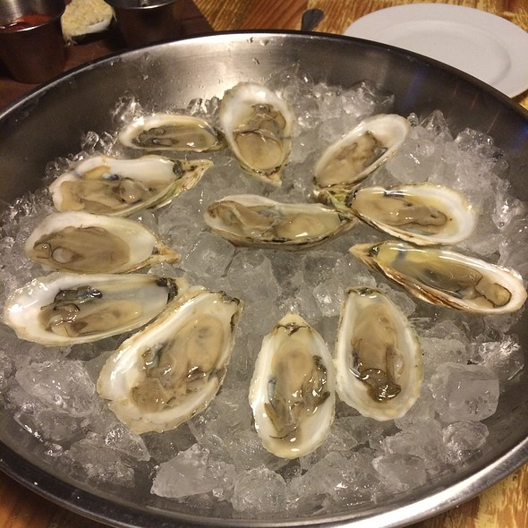 Oysters on the Half Shell @ Old Major