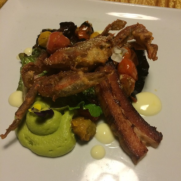 Soft Shell Crab @ Old Major