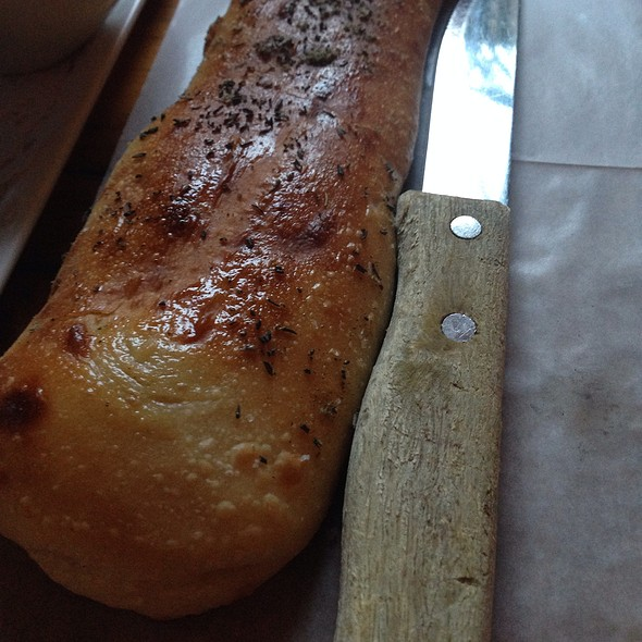 Hot, Crusty Bread - Barbounia, New York, NY