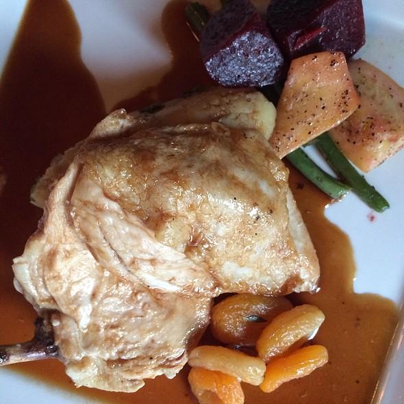 roasted free range chicken @ Deer Lodge