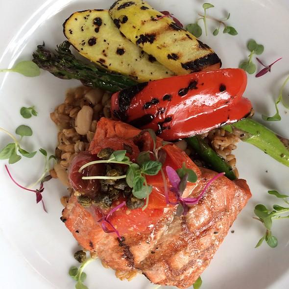Pan Fried Salmon @ Water Street Cafe