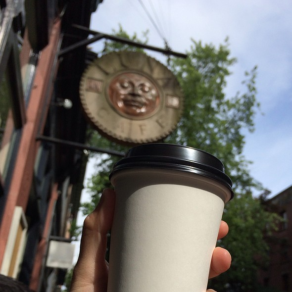 Latte @ Smart Mouth Cafe