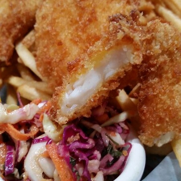 Halibut And Chestnut Gnocchi @ Bay Park Fish Co