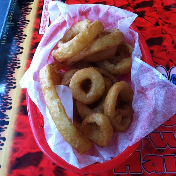 Onion Rings @ Foster's Grille