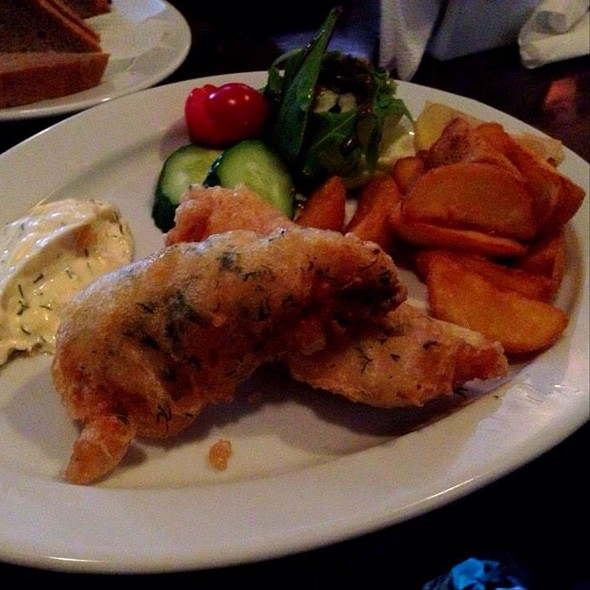 fish n chips @ British Pub, Nizhny Novgorod, Russia