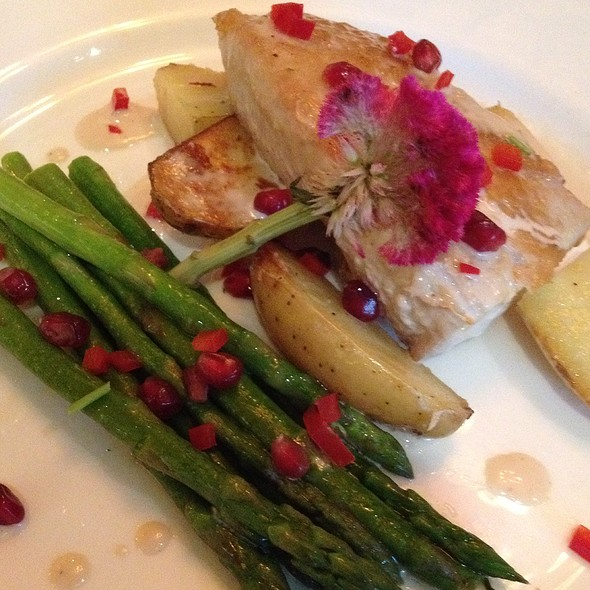 Mahi Mahi With Pomegranate Glaze - Polo Grill - Lakewood Ranch, Lakewood Ranch, FL