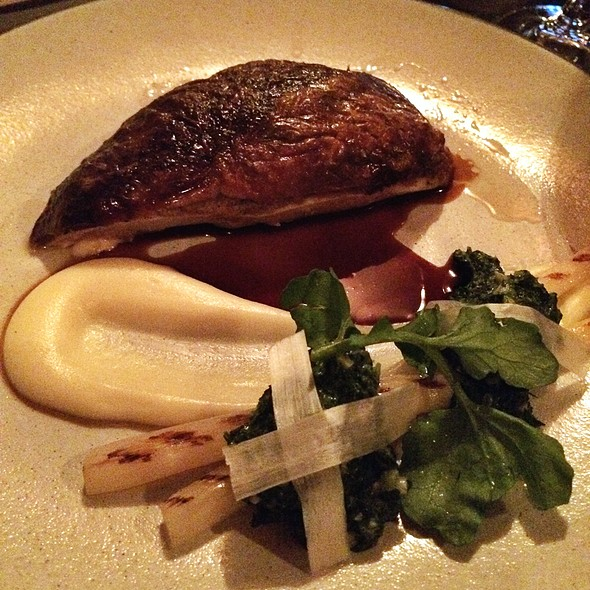 Roasted Chicken, Foie Gras, Black Truffle, Brioche @ The NoMad