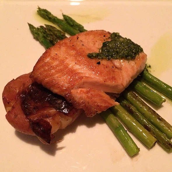 Salmon Pesto - The Standard Pour, Dallas, TX