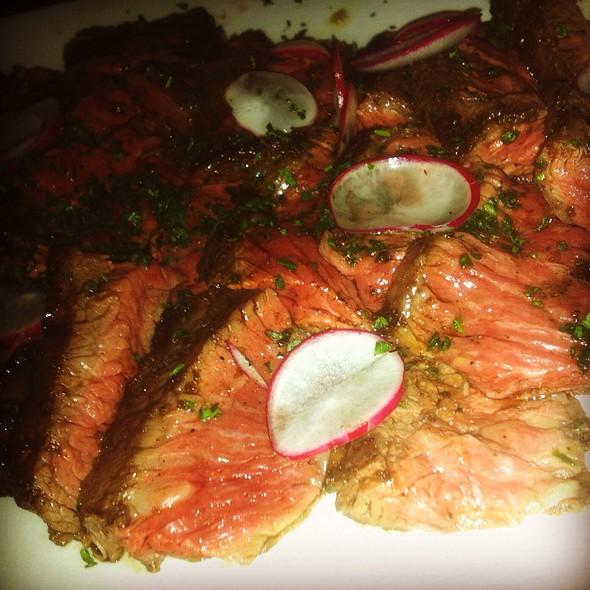 Skirt Steak @ OX Restaurant