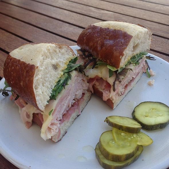 Ham And Bacon Sandwich
