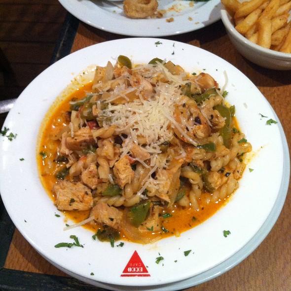 Cajun Pasta With Chicken @ Tortoise & Hare Bar & Grill