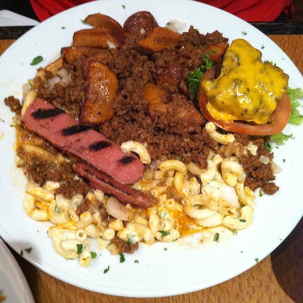 Dumpster Plate @ Tortoise & Hare Bar & Grill