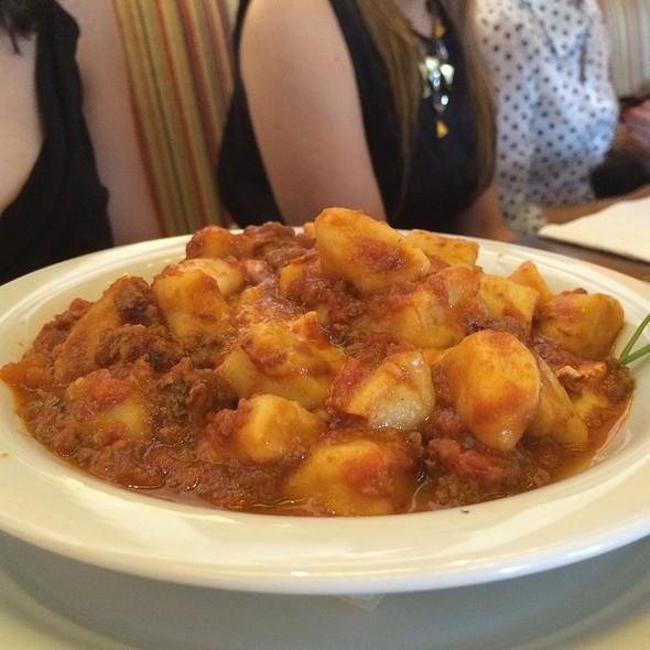 Nhoque à bolonhesa @ La Pasta Gialla Fortaleza