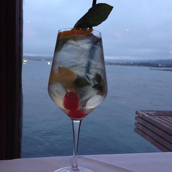 Moscato Sangria - Chart House Restaurant - Monterey, Monterey, CA
