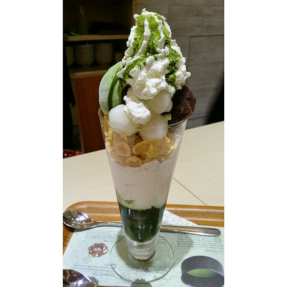 Matcha Shiratama Parfait @ Nana's Green Tea Mid Valley