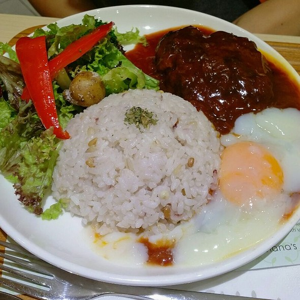 Locomoco Hamburg @ Nana's Green Tea Mid Valley