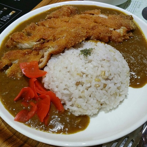 Chicken Cutlet Curry @ Nana's Green Tea Mid Valley