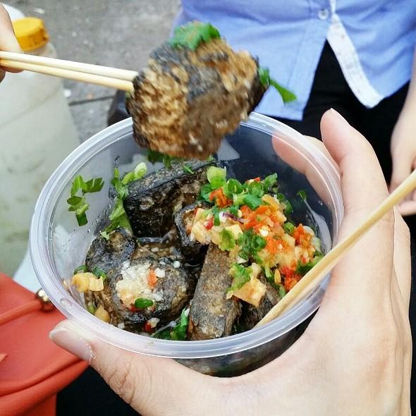 Spicy Black Tofu @ Pasar Malam Taman OUG