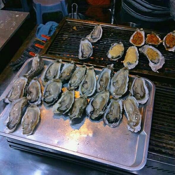 Baked Oysters @ Pasar Malam Taman OUG
