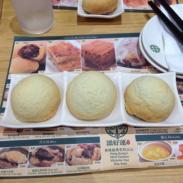 Baked Bun with BBQ Pork @ Tim Ho Wan (Mega Mall)