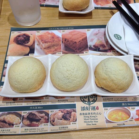 Baked Bun with BBQ Pork @ Tim Ho Wan (Mega Mall)