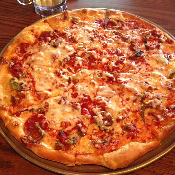 Meat Lovers Pizza @ Grotto Pizza