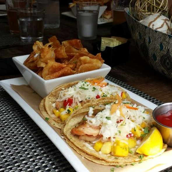 Grilled Shrimp Tacos - Bridge House Tavern, Chicago, IL