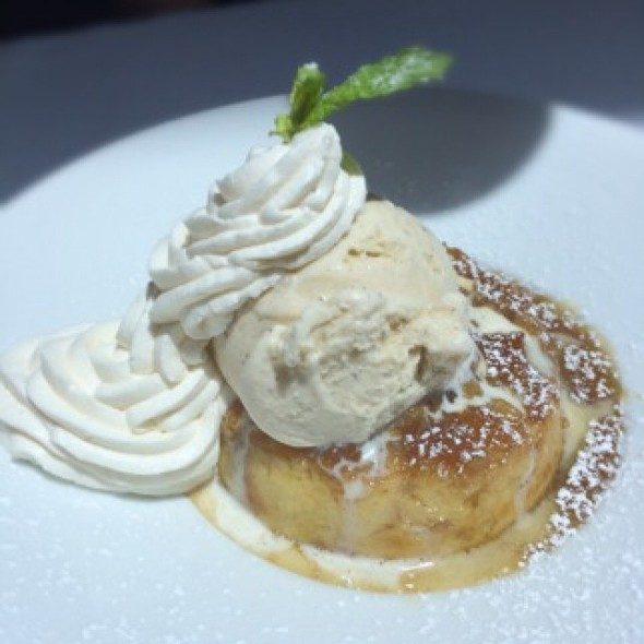 Cinnamon Maple Bread Pudding - Scott's Seafood Grill & Bar - Folsom, Folsom, CA