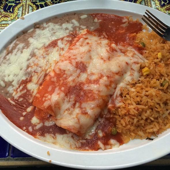 Cheese Enchilada @ Los Toros Mexican Restaurant