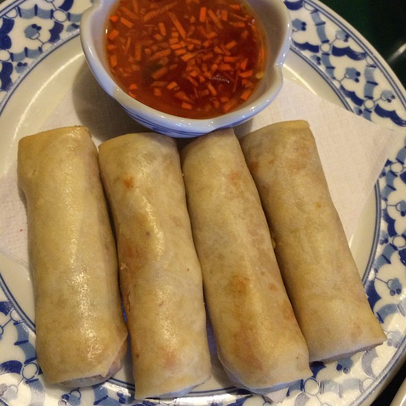 Thai Chicken Spring Rolls @ Pad Thai Restaurant