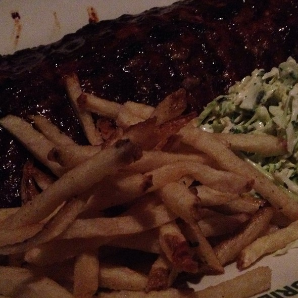 Barbecue Pork Ribs @ Rutherford Grill
