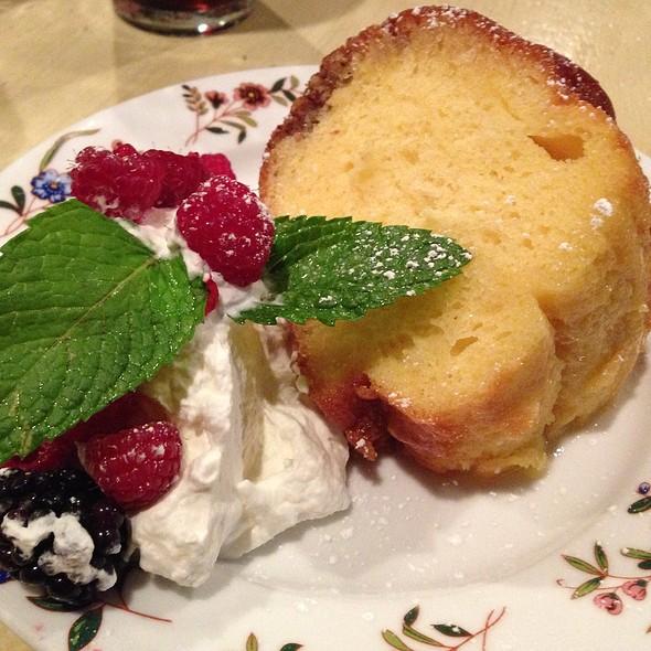 Butter Rum Bundt Cake