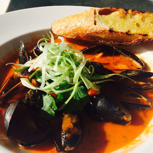 Steamed Mussels In Tom Yum Broth - Hillside Winery & Bistro, Penticton, BC