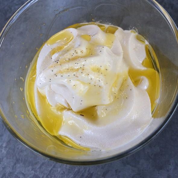 Straus Family Organic Vanilla Soft Serve - Bravas Bar de Tapas, Healdsburg, CA