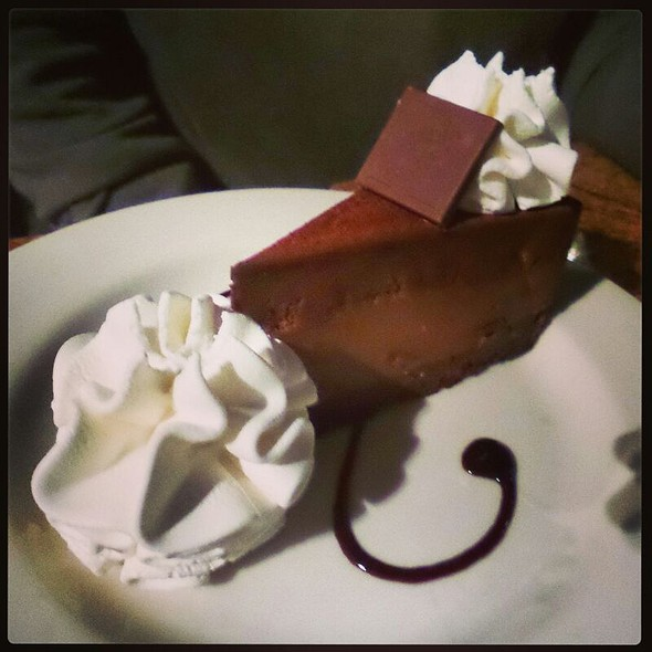 Godiva Chocolate Cheesecake @ The Cheesecake Factory
